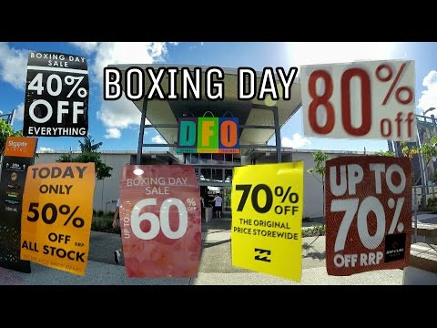 #12 - BOXING DAY (BLACK FRIDAY AUSTRALIANA) | GO TO AUSTRÁLIA