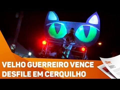 Velho Guerreiro vence desfile dos Carrões em Cerquilho - TV SOROCABA/SBT
