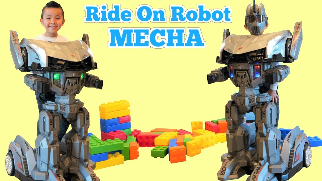 GIANT Mecha Robot Car Ride On Childrens Fun CKN Toys