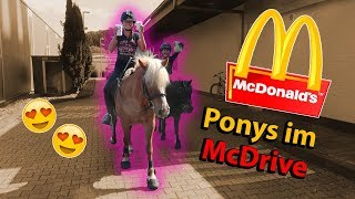Wir reiten zu McDonalds! 🤤😍 | Marina und die Ponys