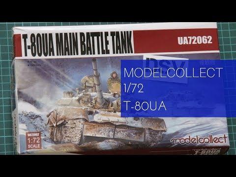 Modelcollect 1/72 T-80UA (UA72062) Review