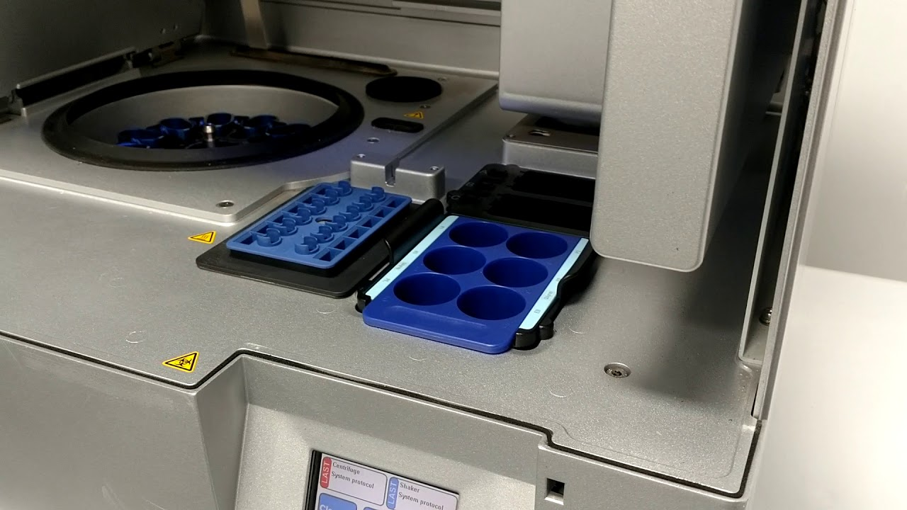 Qiagen Qiacube Automated Dna Rna Purification System Bostonind 14168 Youtube