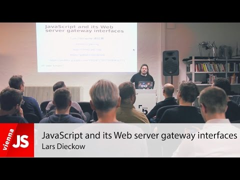 JavaScript and its Web server gateway interfaces