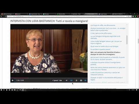 Intervista Con Lidia Bastianich:Tutti A Tavola A Mangiare! #2 Learning Italian
