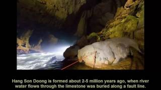 Introduction Son Doong cave - Viet Nam