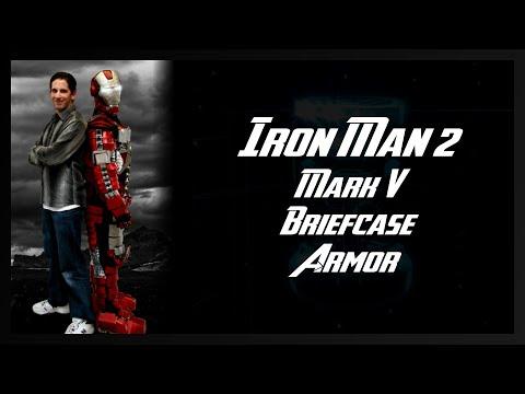 Iron Man Mark V Transforming Briefcase Suit