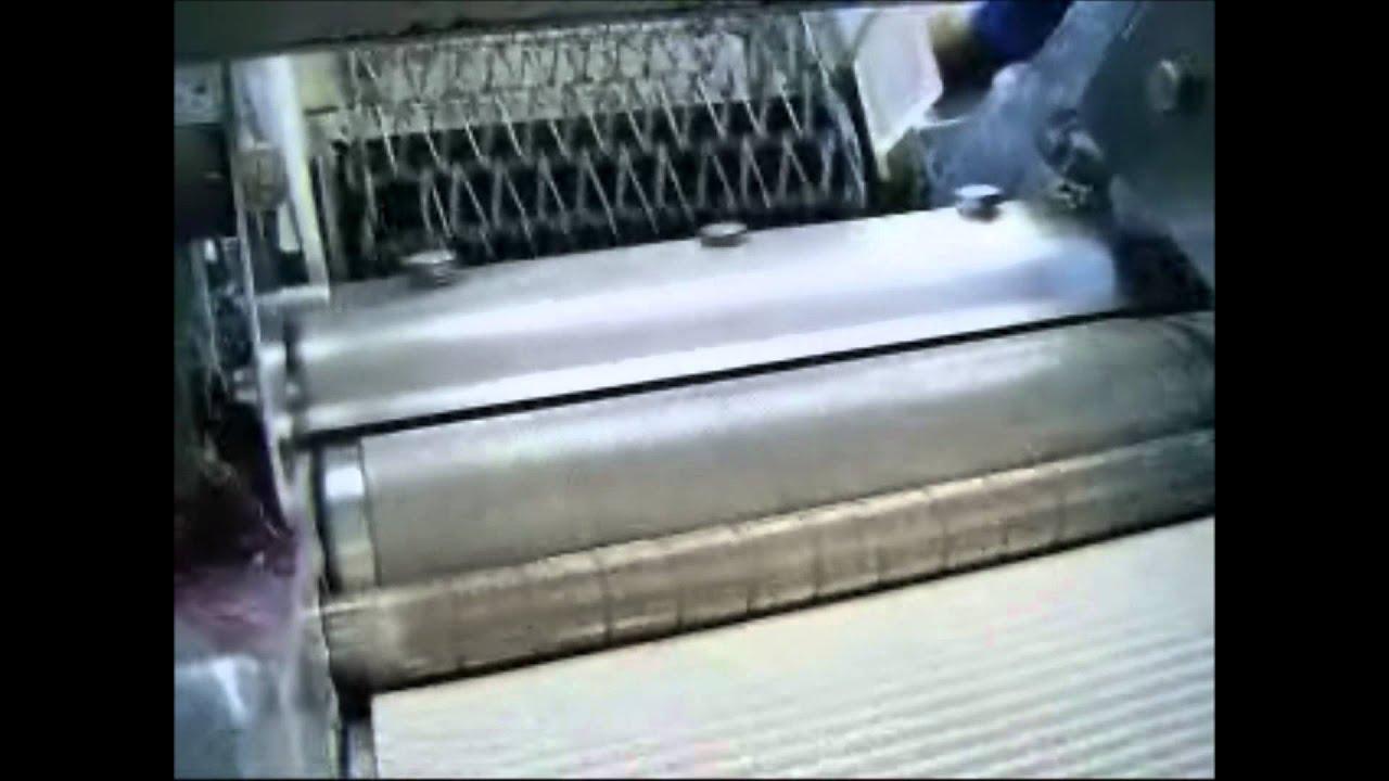 Genemco testing baader model 47 fish skinner machine youtube for Fish skinner machine