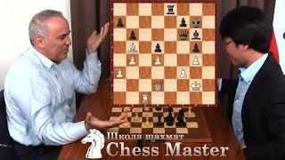 Каспаров ЗАГИПНОТИЗИРОВАЛ Ле, и тот зевнул ладью! Быстрые шахматы в Сент Луисе 2017