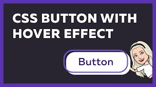 Button With Hover Effect Using HTML CSS Only
