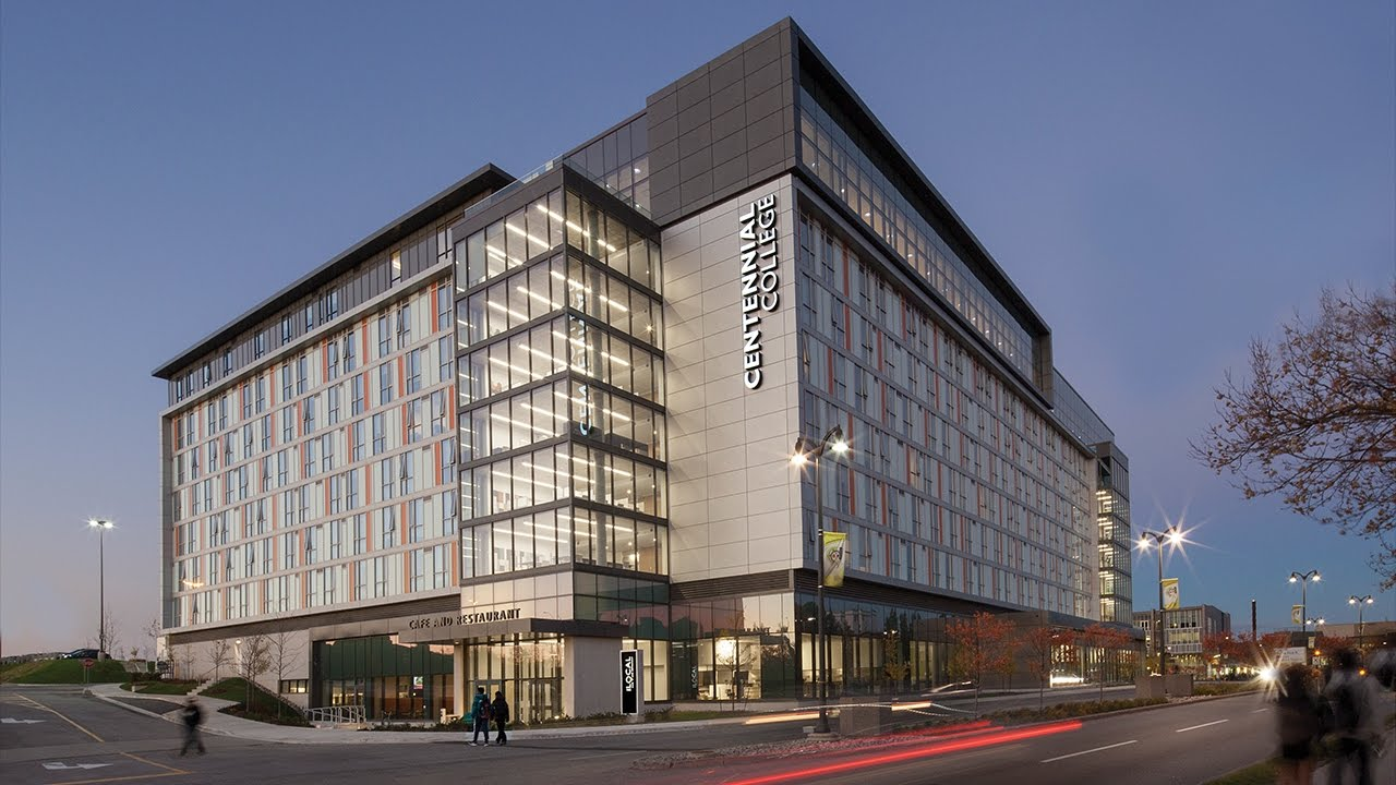 Watch Our New Hospitality And Culinary Arts Centre Time Lapse By Centennial College