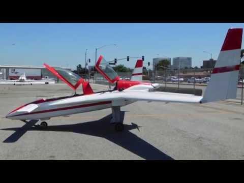"""""""Berkut"""" A high performance experimental aircraft."""