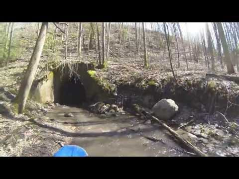 Dirt Biking the Tunnels of Newtonville
