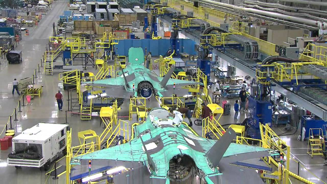 production f 35 youtube