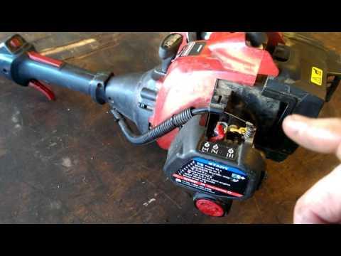 Sears Craftsman weed wacker - YouTube