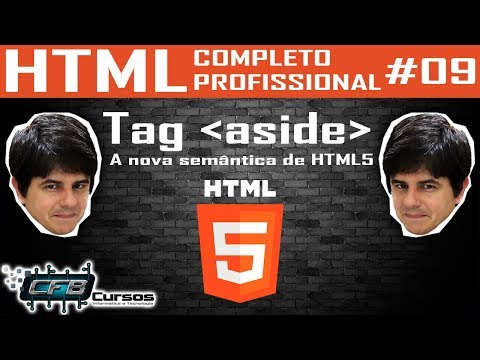 Tag Aside Da Nova Semântica - Curso De HTML Completo E Profissional #09