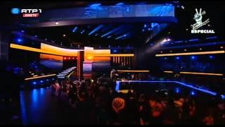 """Miguel Correia – """"Quero voltar para os braços da minha mãe"""" – Gala Solidária - The Voice Portugal"""