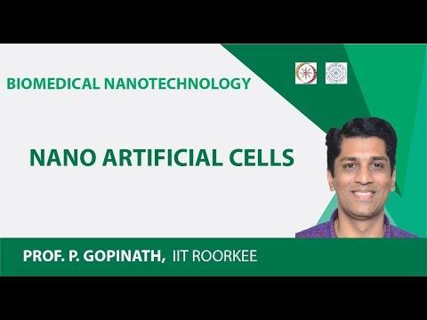Nano artificial cells