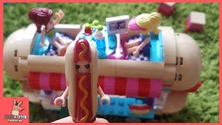 레고 프렌즈 놀이공원 키즈 카페 간 장난감 친구들 놀이 ♡ 어린이 장난감애니 Lego friends amusement playground | 말이야와아이들 MariAndKids