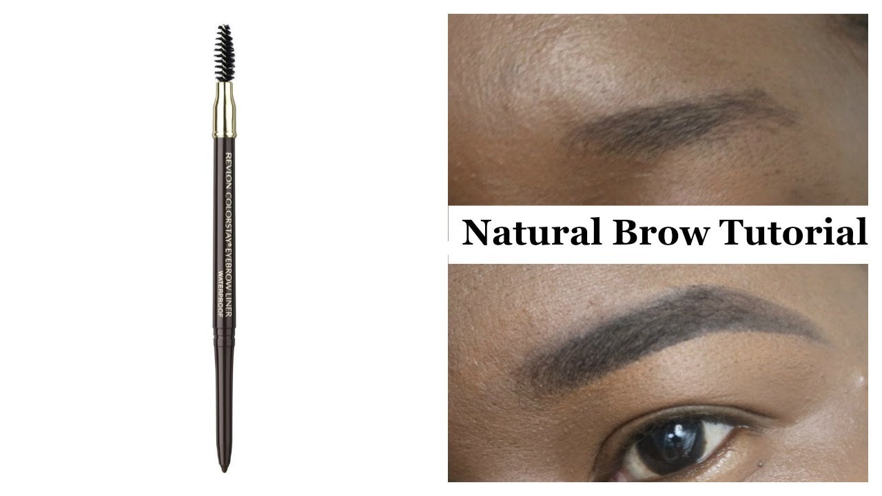 Natural Brow Tutorial For Beginners Youtube
