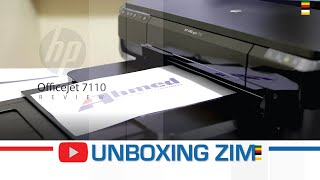 Unboxing Zim - HP Officejet 7110 Review