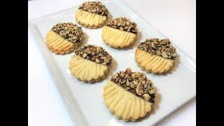 ДОМАШНЕЕ ПЕЧЕНЬЕ с Орехами и Шоколадом. На одном не остановишься!   Homemade Cookies.