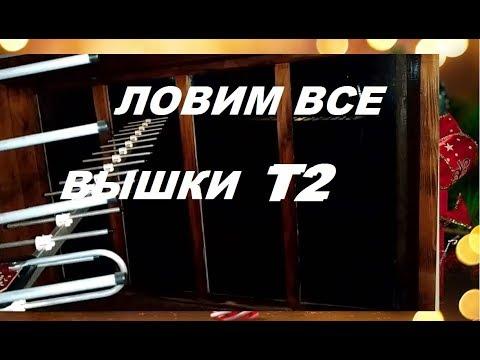 """Антенна """"Волна 2-24"""" ловит слабые вышки Т2"""
