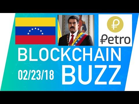 Venezuela plans to launch Petro Gold - Blockchain BuzZ Ep.29 | Coinsquare