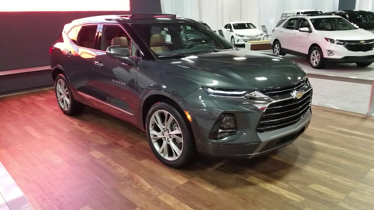 ALL NEW 2019 CHEVY BLAZER - Walkaround Review - YouTube