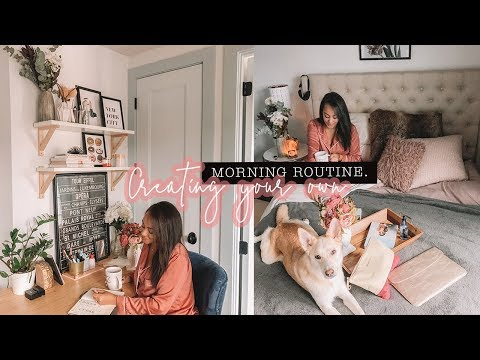 How to Create Your Own PERFECT MORNING ROUTINE  Antonnette