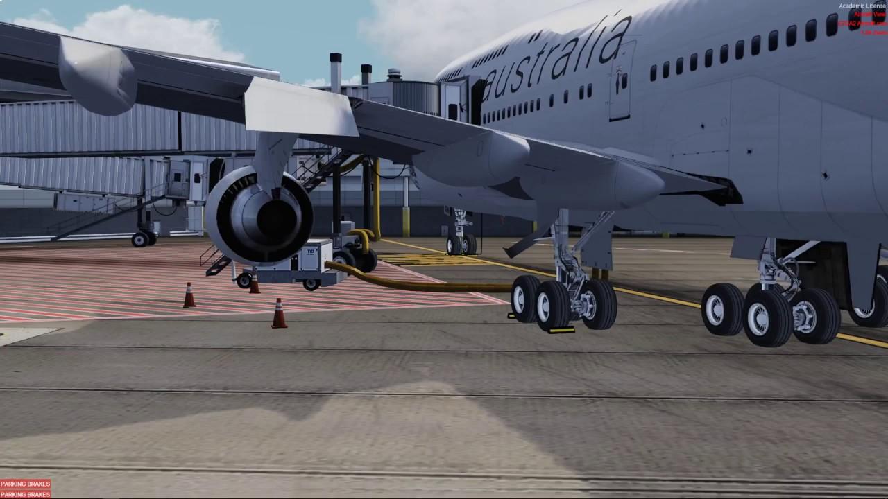 vVIR Virgin AUS YSSY/WSSS PMDG 747-400 v3 with FS2Crew