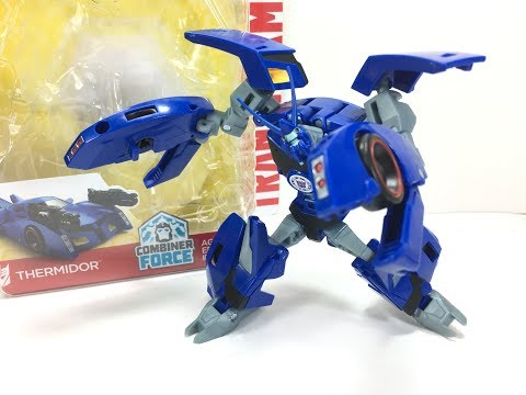 Transformers RID Warrior Deluxe Thermidor Chefatron Toy Review