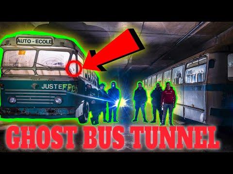 SECRET UNDERGROUND GHOST BUS TUNNEL (BLACK OPS ZOMBIE BUS?)