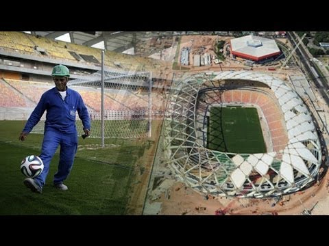 Brazil worker dies in World Cup stadium fall