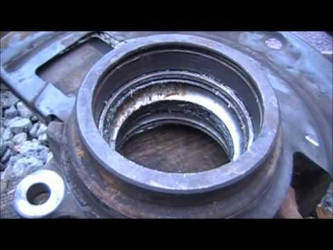 2004 Nissan Maxima Wheel Bearing Replacement - YouTube