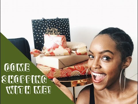 COME CHRISTMAS SHOPPING WITH ME! | THIS IS ESSMAS