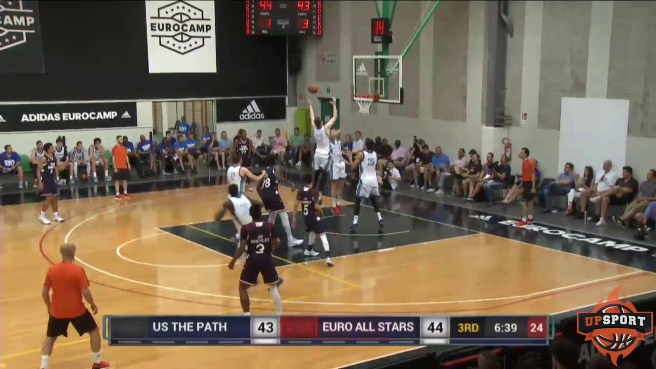 Highlights The Path Team Usa Vs Euro All Stars 90 74 Adidas Eurocamp 06 09 17