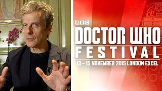 Peter Capaldi on Cosplay, Companions & Costumes - Doctor Who Festival