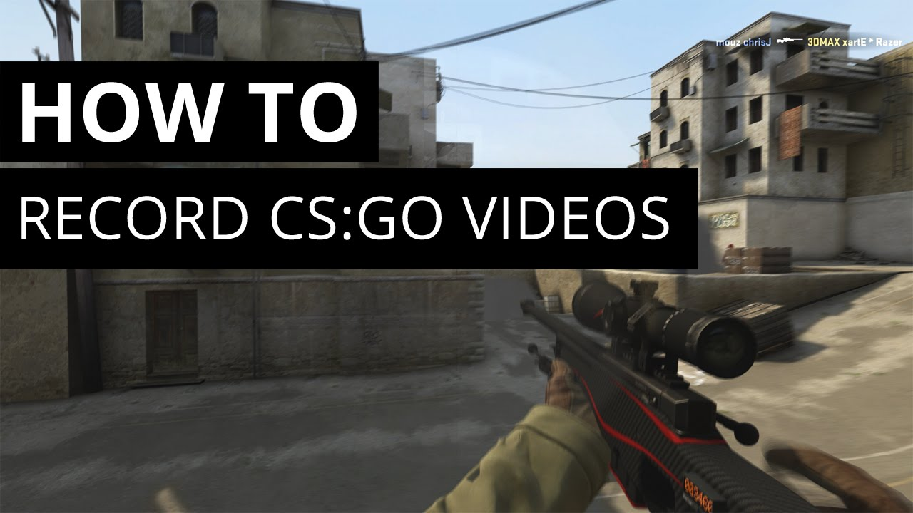 How to make a movie in CS: GO quality