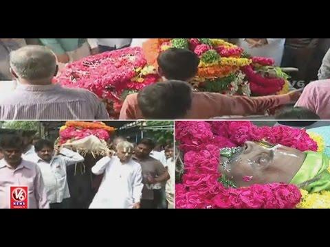 Irrigation Advisor Vidyasagar Rao Funeral Ceremony At Amberpet | Hyderabad | V6 News
