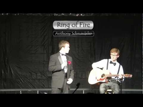 """""""Ring of Fire""""  -- Anthony Schmiedeler"""