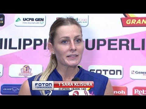 Match MVP: Sara Klisura | PSL Grand Prix 2017
