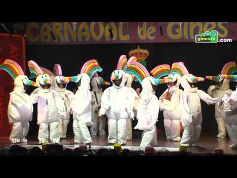 Don Francisco pa los amigos. Carnaval de Gines 2017 (Primera semifinal)