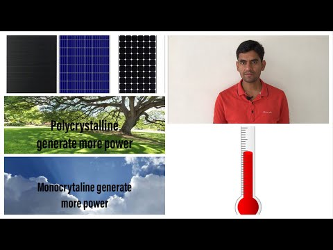 Monocrytaline vs polycrystalline vs thin film solar | confusion clear | which one should you buy ?