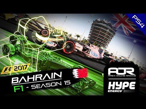 F1 2017 | AOR Hype Energy F1 Leagues | PS4 Oceania S2 | R4 Bahrain GP