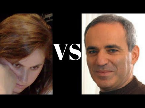 Exciting Chess Game: The power of Kasparov's Sicilian Najdorf! : Judit Polgar vs Garry Kasparov