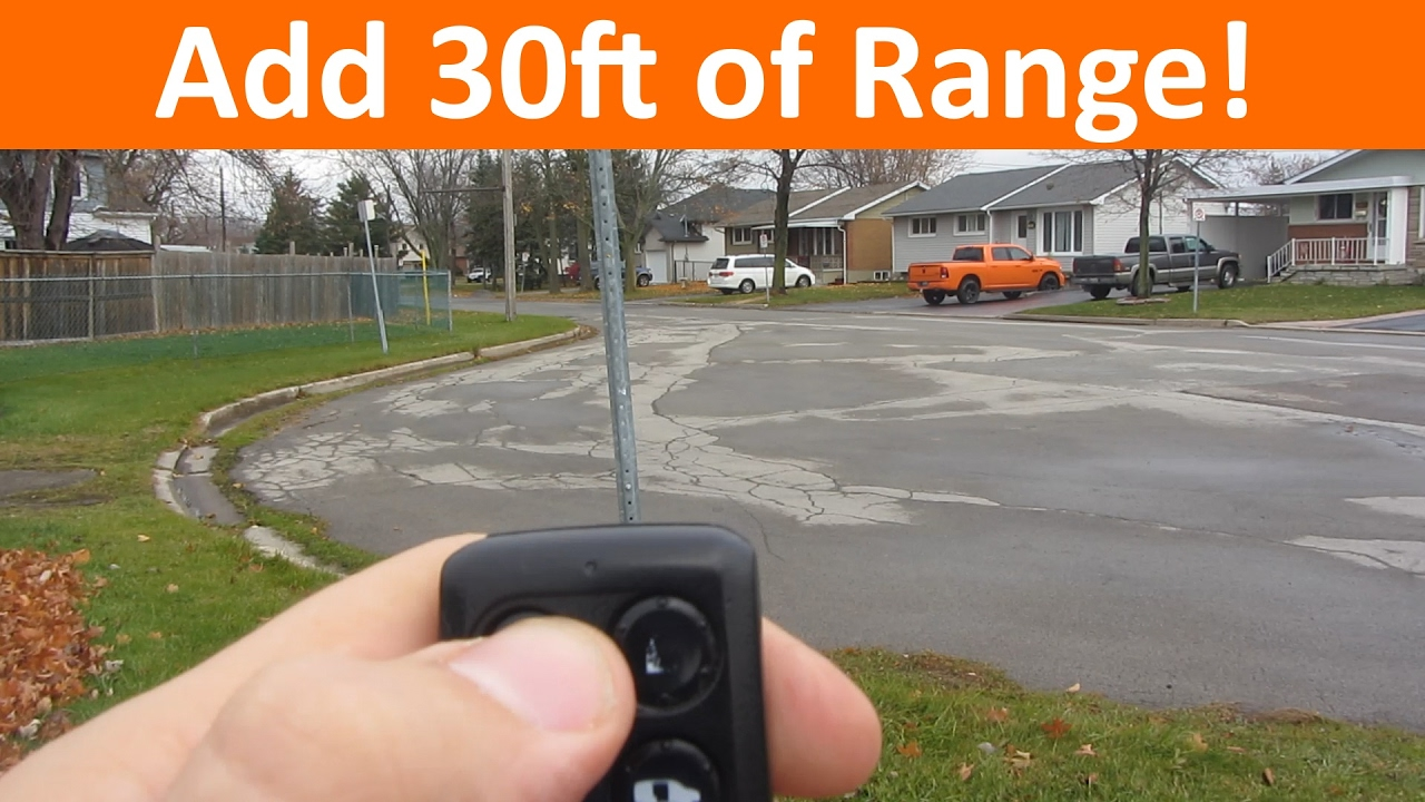 Extend The Range Of Your Key Fob Keyless Entry With A