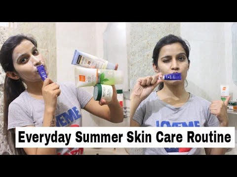 My Easy Summer Skin Care Routine   Affordable Products & Healthy Skin  Super Style tips