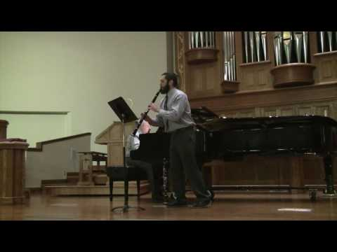 Charles du Preez - 3 Romanzen, Op  94 arr  for Clarinet and Piano, Robert