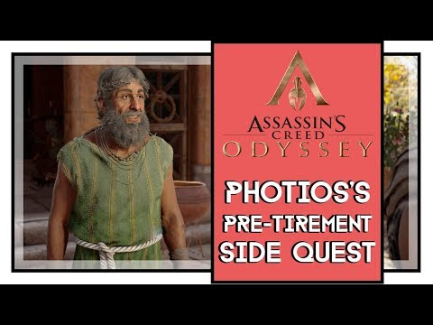 Assassin's Creed Odyssey Photios's Pre-Tirement Side Quest Walkthrough