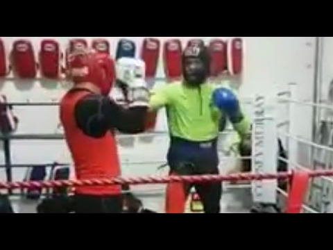 CONOR MCGREGOR LEAKS RECENT SPARRING FOOTAGE; TRAINING BOXING SKILLS FOR FLOYD MAYWEATHER